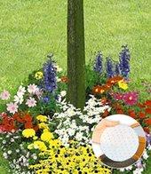 Bunter Blumen-Teppich,100x40 cm