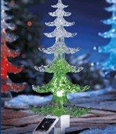 Solar-LED Weihnachtsbaum mit Farbwechsel-Funktion,1 Pack.