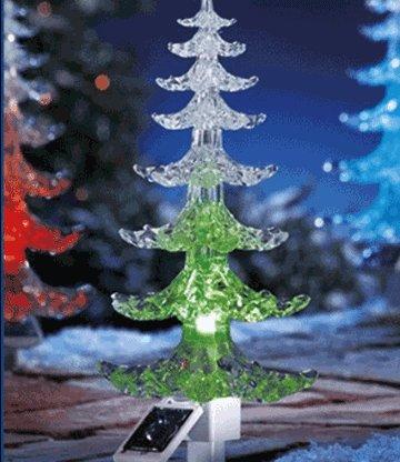 solar led weihnachtsbaum mit farbwe winter zeit bei. Black Bedroom Furniture Sets. Home Design Ideas