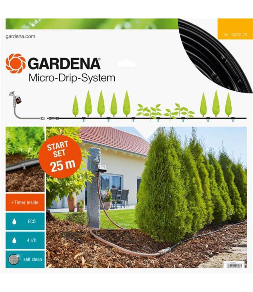 GARDENA® Micro-Drip-System Start-Set Pflanzreihen M automatic