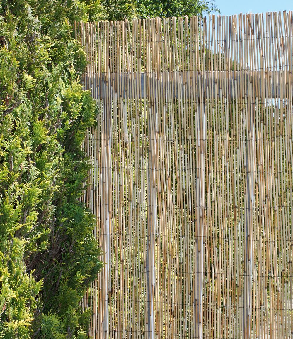 Sichtschutzmatte aus Schilfrohr 1×3 m