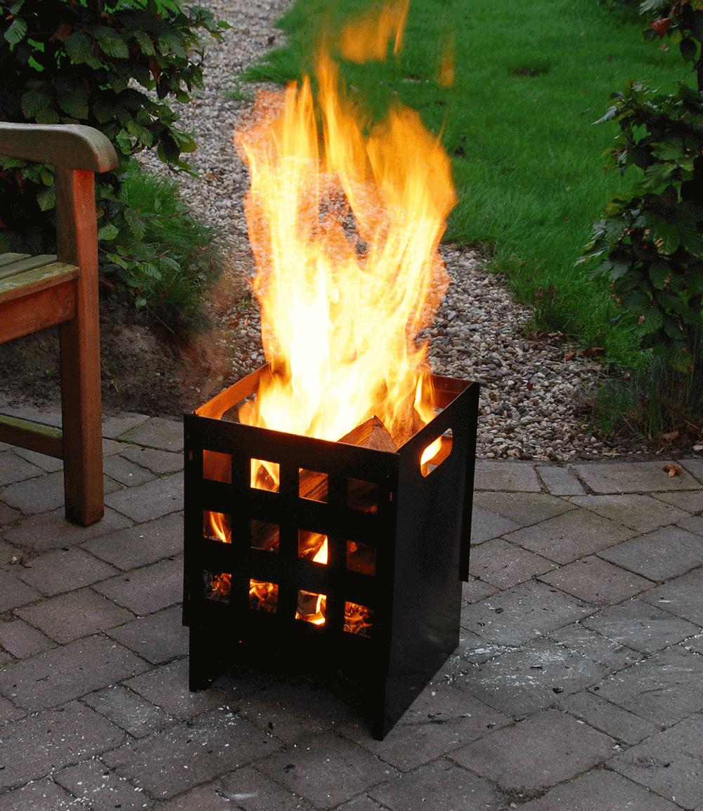 Feuerkorb Cubus