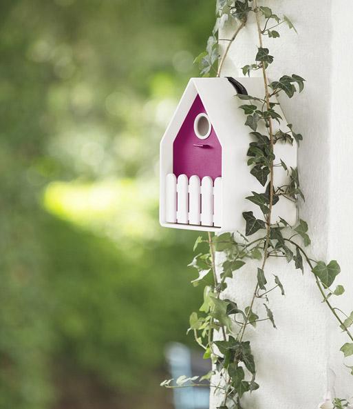 landhaus vogelh uschen wei pink top qualit t baldur garten. Black Bedroom Furniture Sets. Home Design Ideas