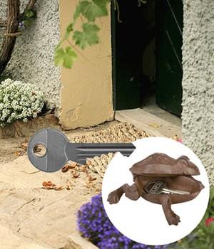 Schlüsselversteck Frosch,1 Stück