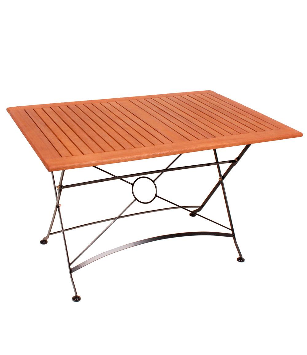 Tisch Kärnten rechteckig, klappbar