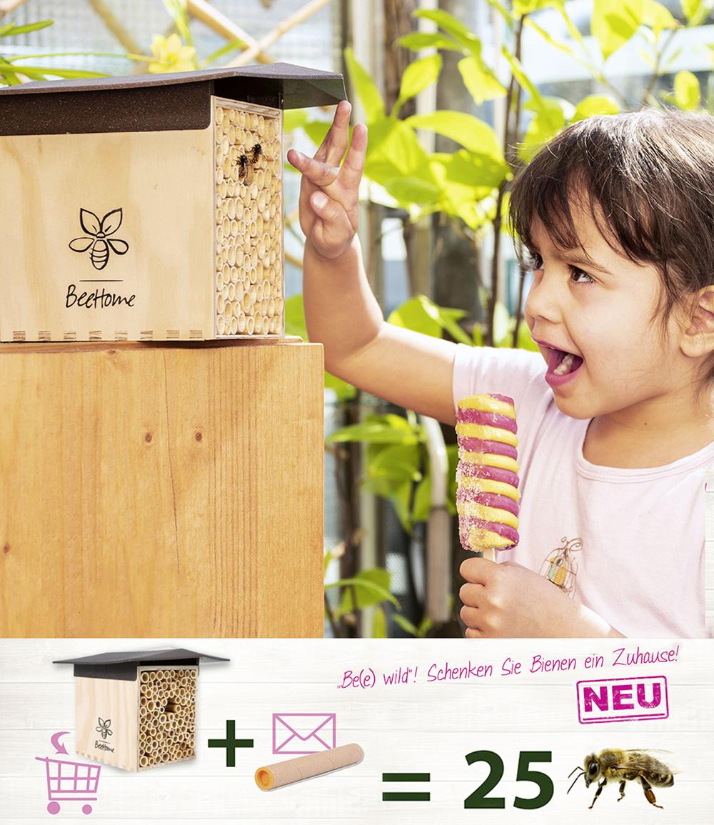 Bee-Home, inkl. Bienen