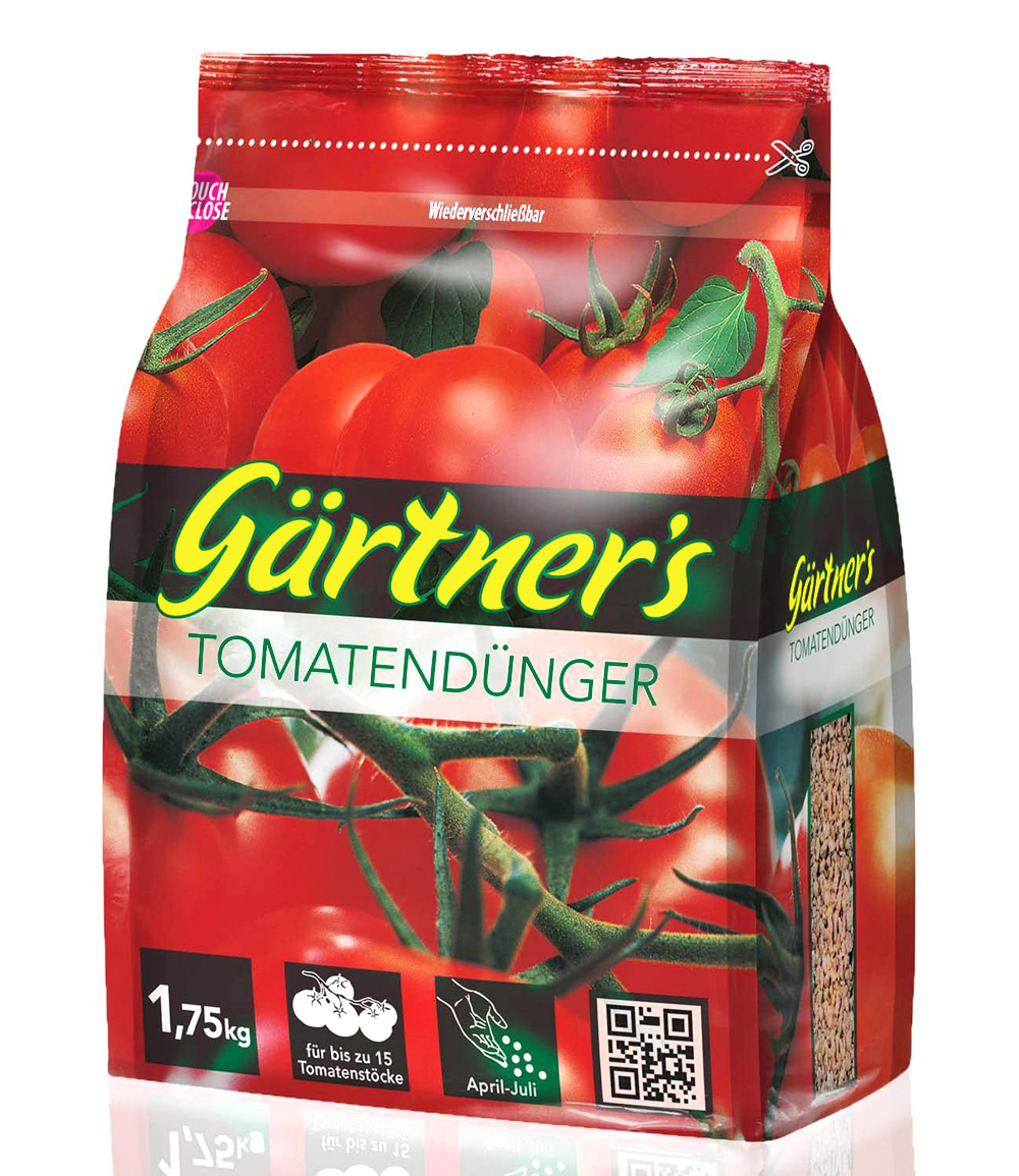 Gärtner's Tomatendünger für alle Tomatensorten