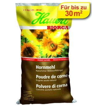 Hauert Biorga Hornmehl,2,5 kg Beutel