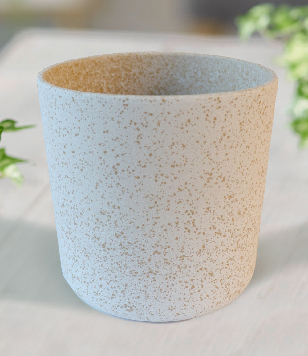 Keramik-Übertopf ø 17 cm 'weiß'