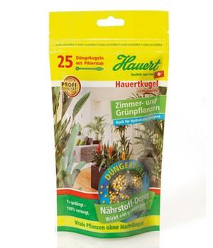 Hauertkugel für Zimmer- und Grünpflanzen,25 Stück