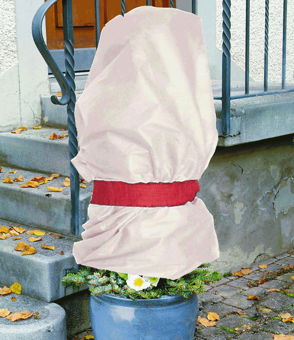 Winterschutz-Vlies 'beige' 1,5 x 5 m