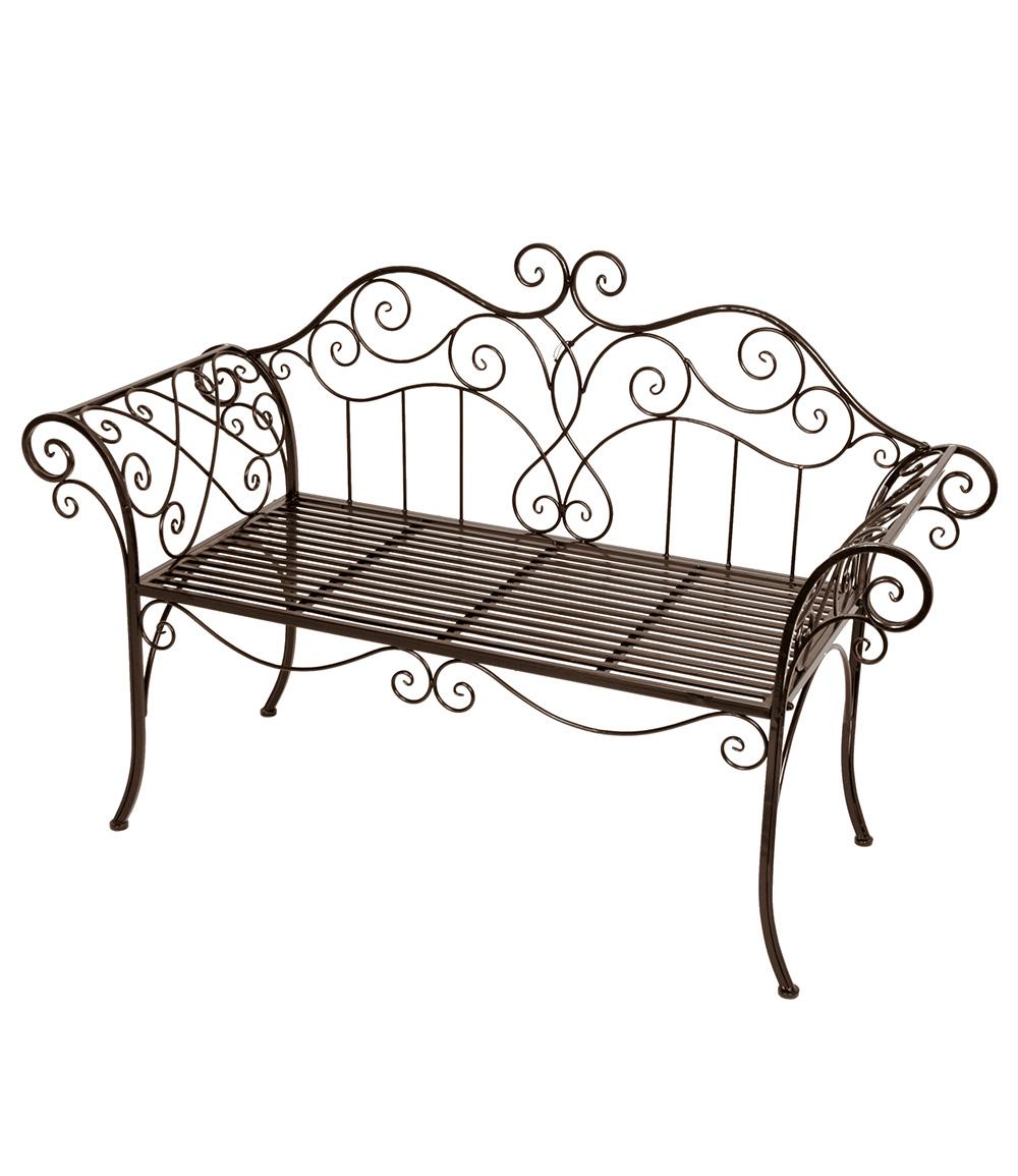 """Gartenbank """"Tara"""" aus Eisen, bronzefarben (Kopie) GartenXXL"""