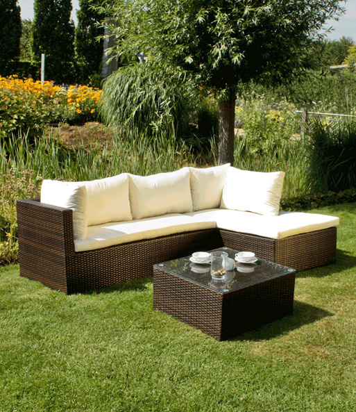 lounge ecke z rich inkl auflagen u gartenm bel bei baldur garten. Black Bedroom Furniture Sets. Home Design Ideas