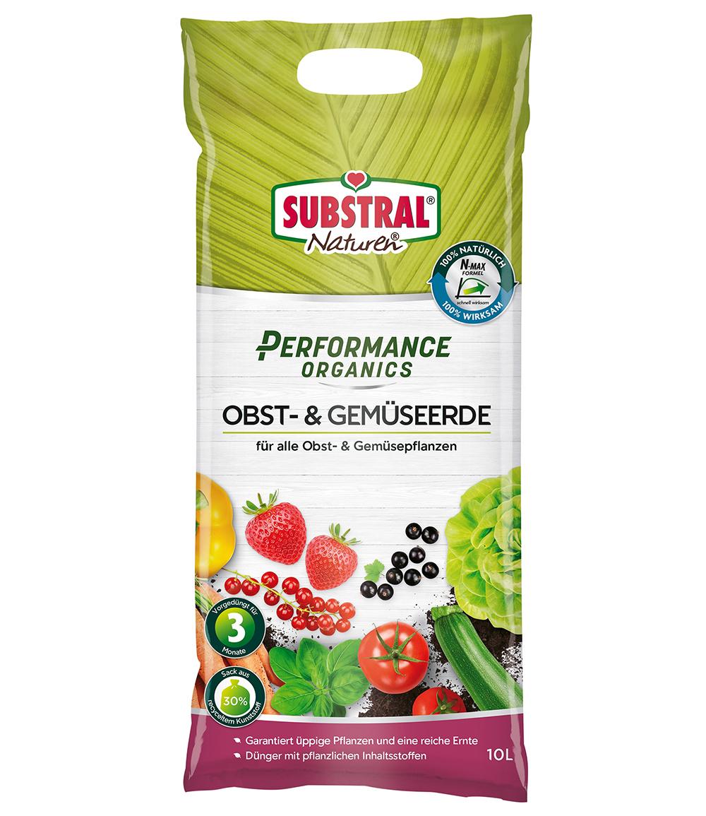 SUBSTRAL® Performance Organics Obst & Gemüse Erde