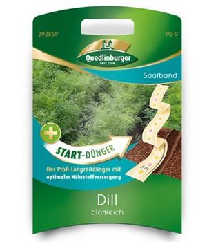 Saatband Dill blattreich+Start-Dünger, 5 m,1 Set