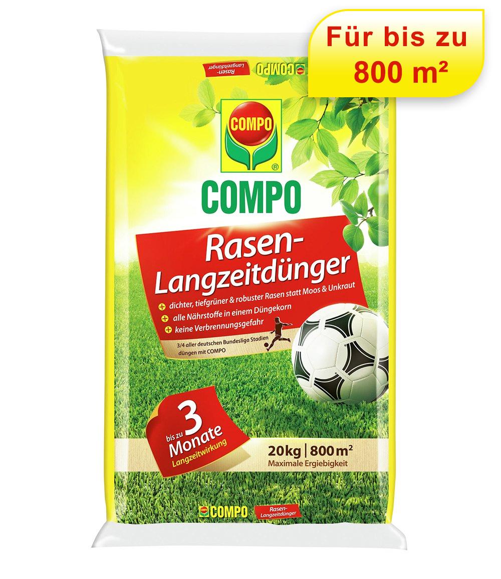 COMPO® Rasen-Langzeitdünger für 800 m²