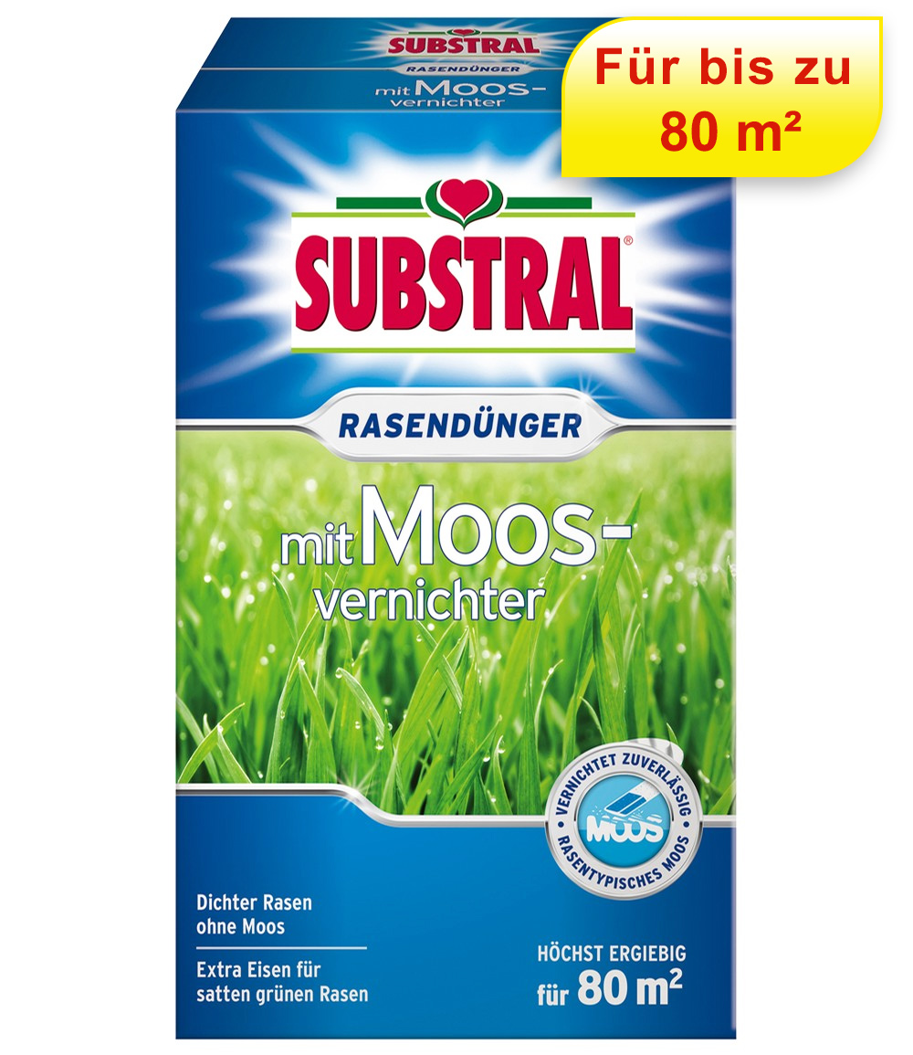 Substral® Rasendünger plus Moosvernichter