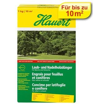 Hauert Laub- und Nadelholzdünger,1 kg Karton