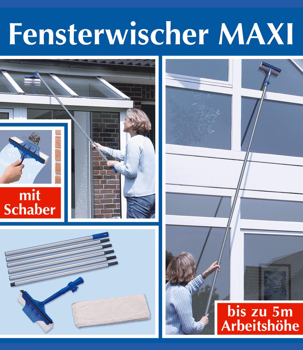 Ersatzbezug für Fensterwischer 'MAXI' 2er-Set