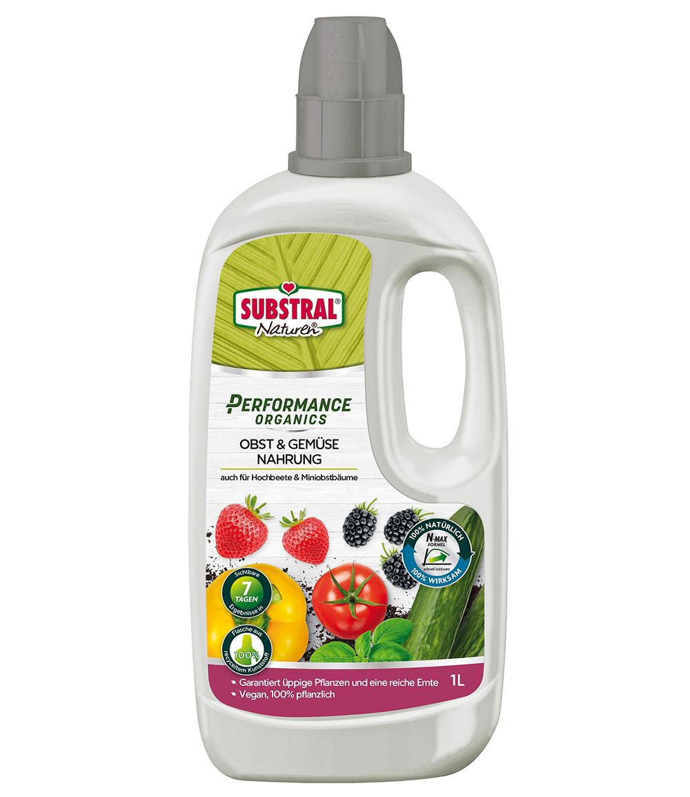SUBSTRAL® Performance Organics Obst & Gemüse Nahrung