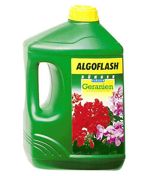 Algoflash Dünger Für Blühende Terren Und Balkonpflanzen | Algoflash Geranien Dunger Sonderartikel Bei Baldur Garten