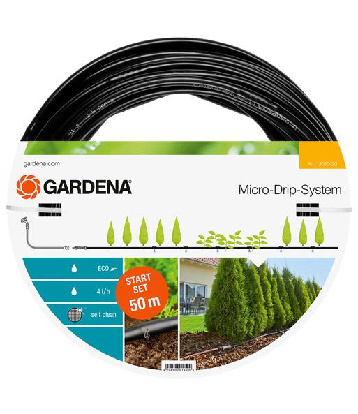 gardena micro drip system start set pflanzreihen l baldur garten. Black Bedroom Furniture Sets. Home Design Ideas