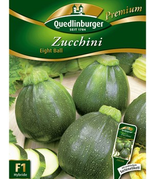 Zucchini 'Eight Ball' F1