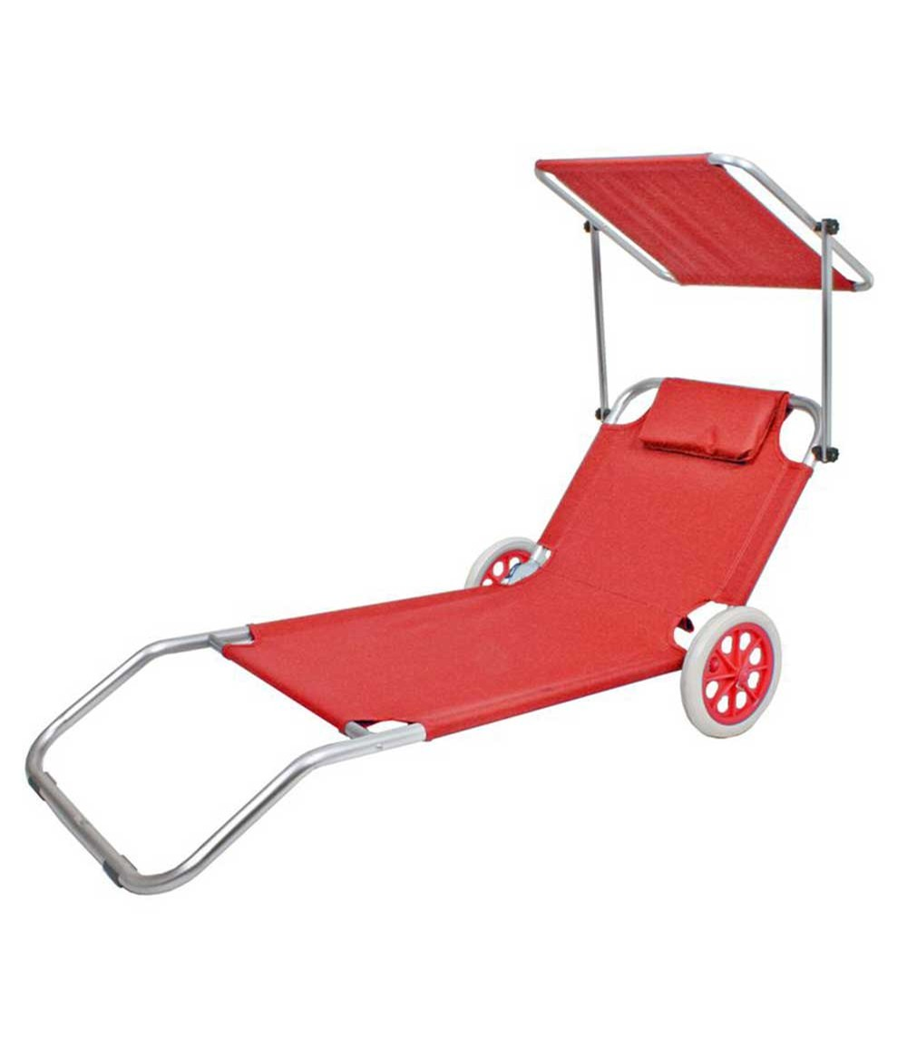 Beachtrolley ANDROS, rot