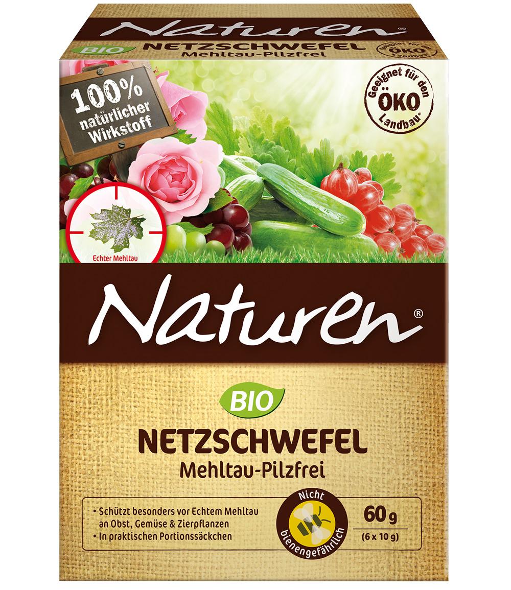 Naturen®  BIO Netzschwefel Mehltau-Pilzfrei