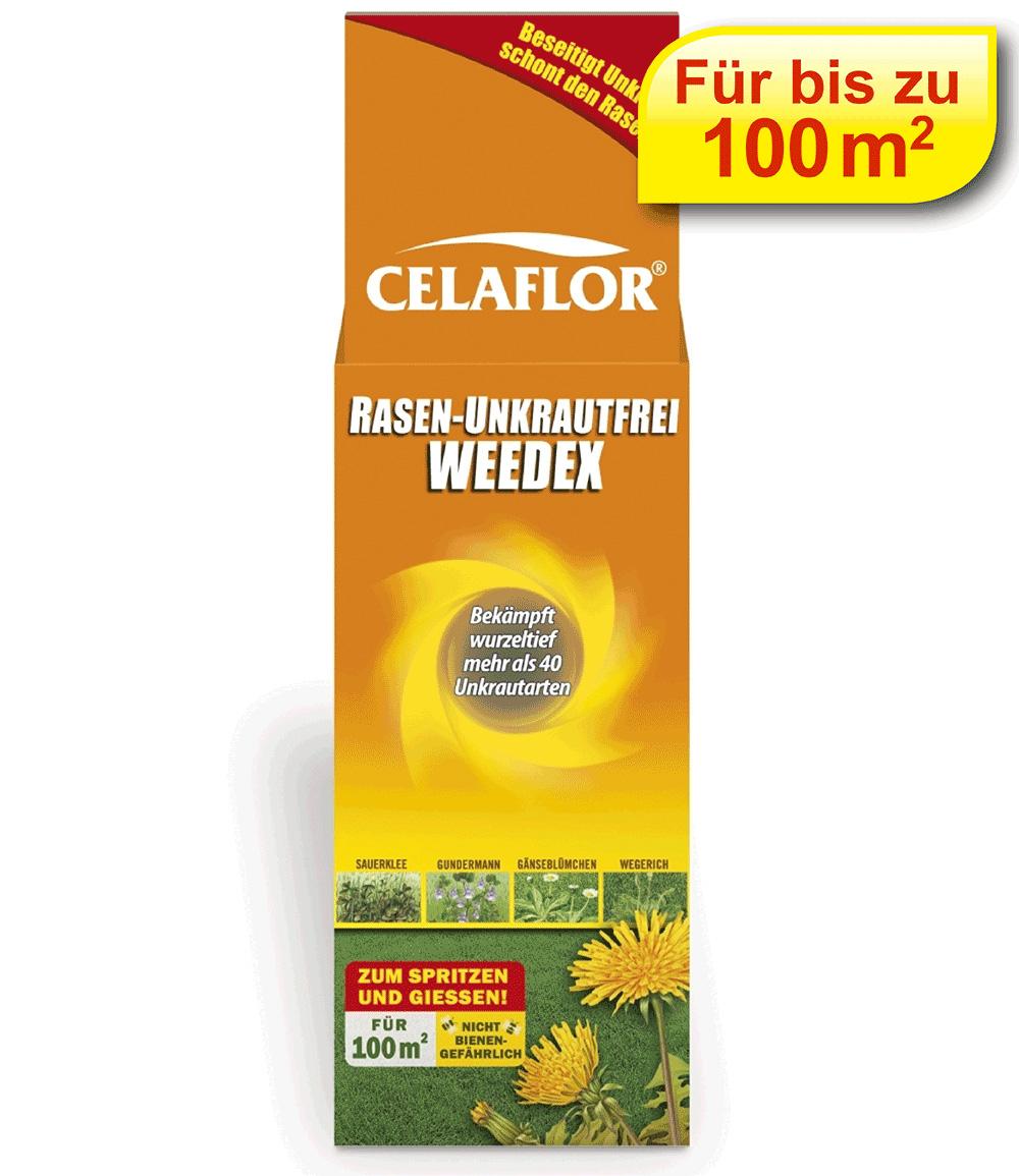 CELAFLOR® Rasen-Unkrautfrei Weedex für 100 m²