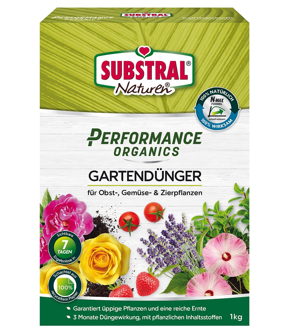 SUBSTRAL® Performance Organics Gartendünger Universal