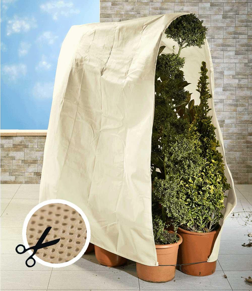 Winterschutz Vlies für Pflanzen 200x500cm