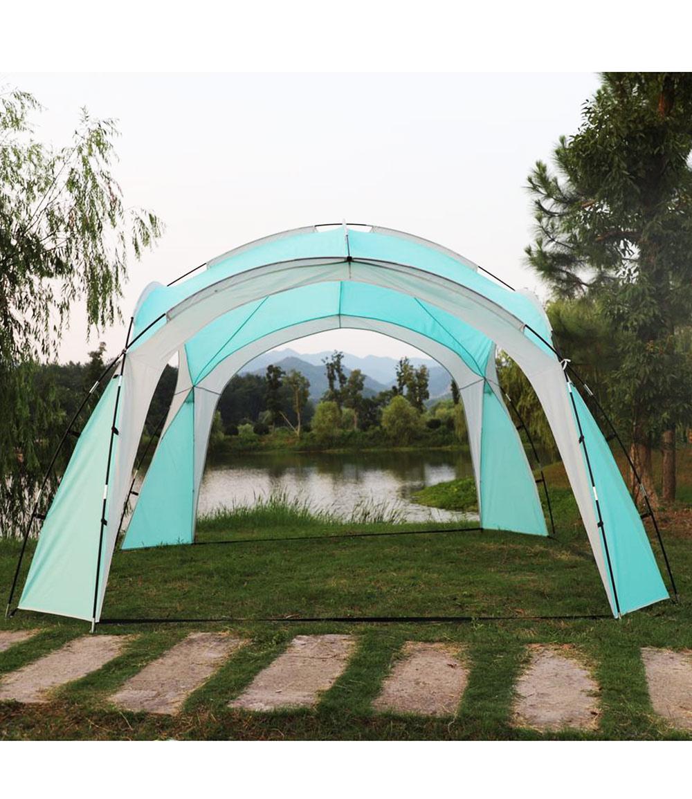 "Gartenpavillon ""Ticino"" aus Polyester, türkisfarben (Kopie) Baldur"