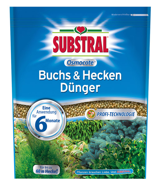 SUBSTRAL® Düngeperls Hecken & Buchs