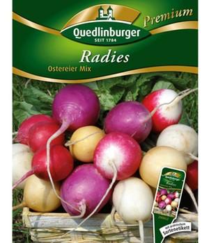 Radies  - Ostereier-Mix - ,1 Portion