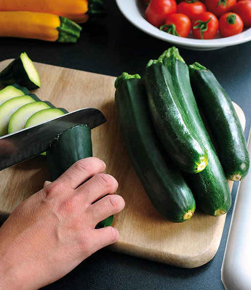 Topf-Zucchini 'Easy Pick Green®' F1