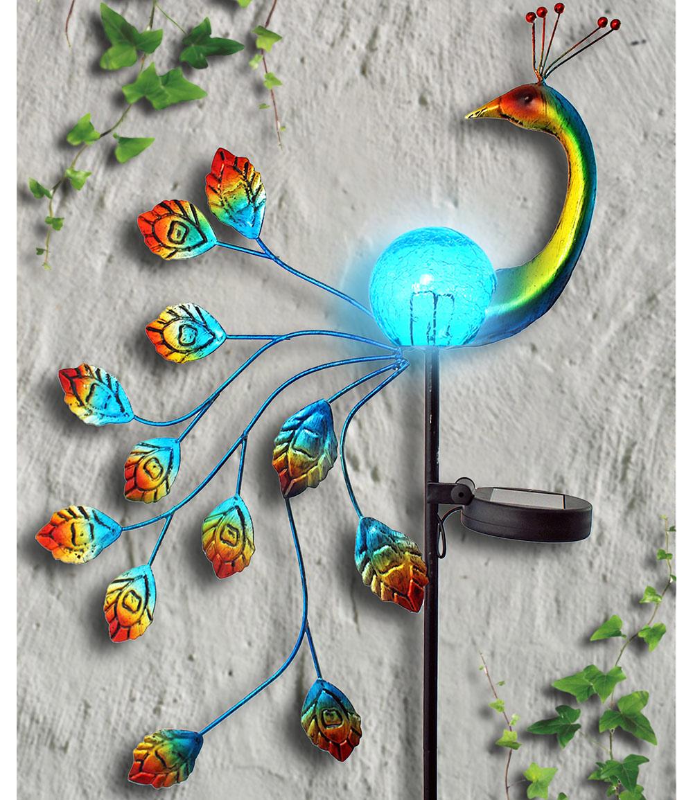 Solarstecker 'Pfau'