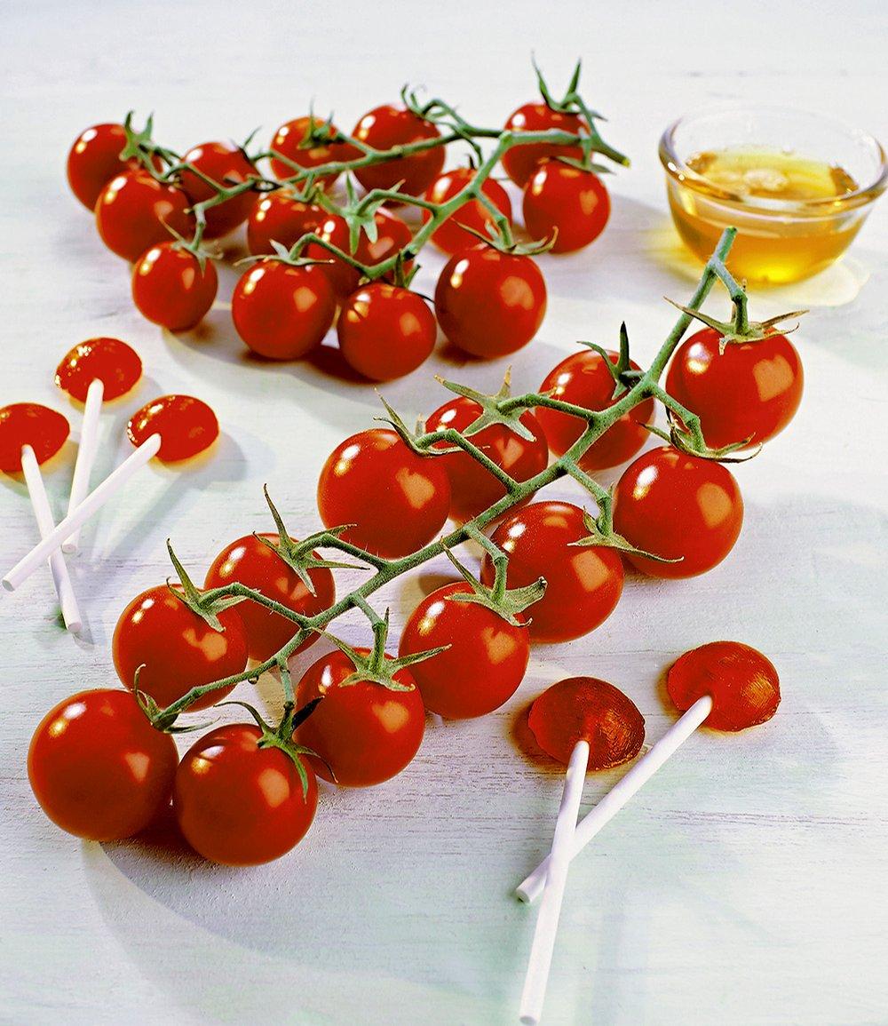 Veredelte Zucker-Tomate 'Solena® Red' F1