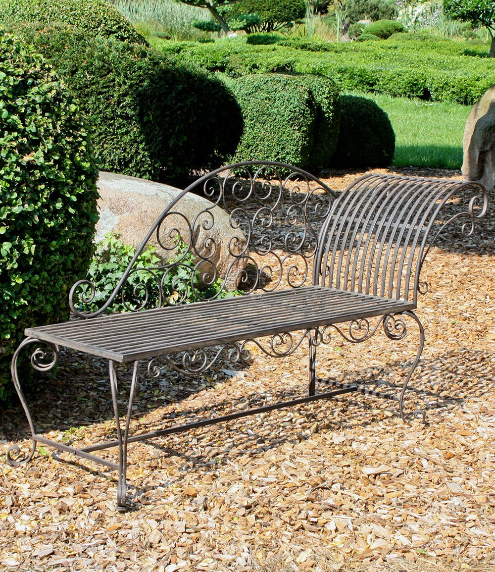 gartenbank liegebank aus metall 1a qualit t baldur garten. Black Bedroom Furniture Sets. Home Design Ideas