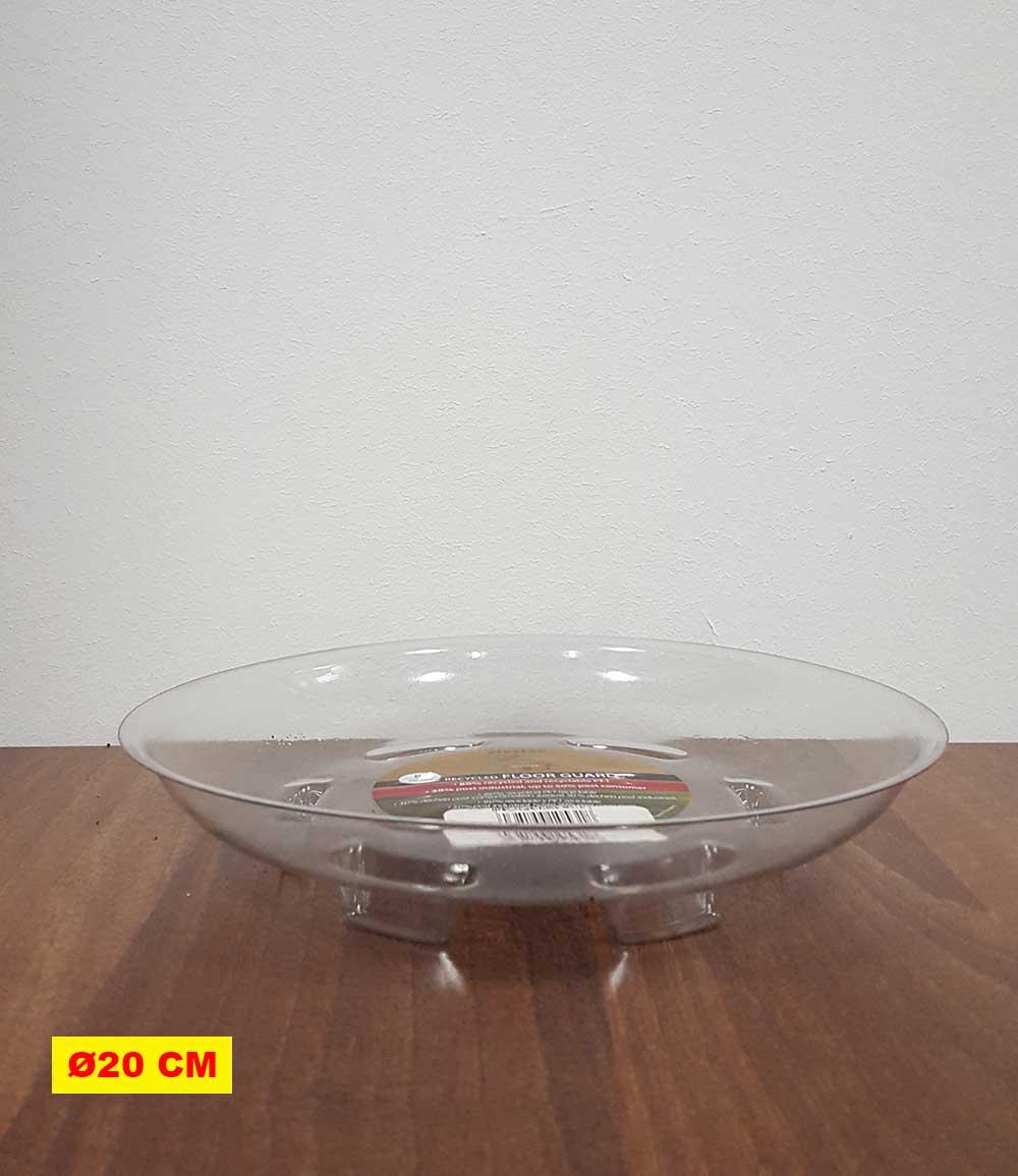 Transparenter Untersetzer 20 cm