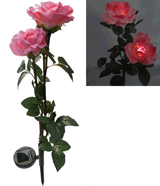 solarleuchte 39 rosa rose 39 dekorativ n tzlich bei baldur garten. Black Bedroom Furniture Sets. Home Design Ideas