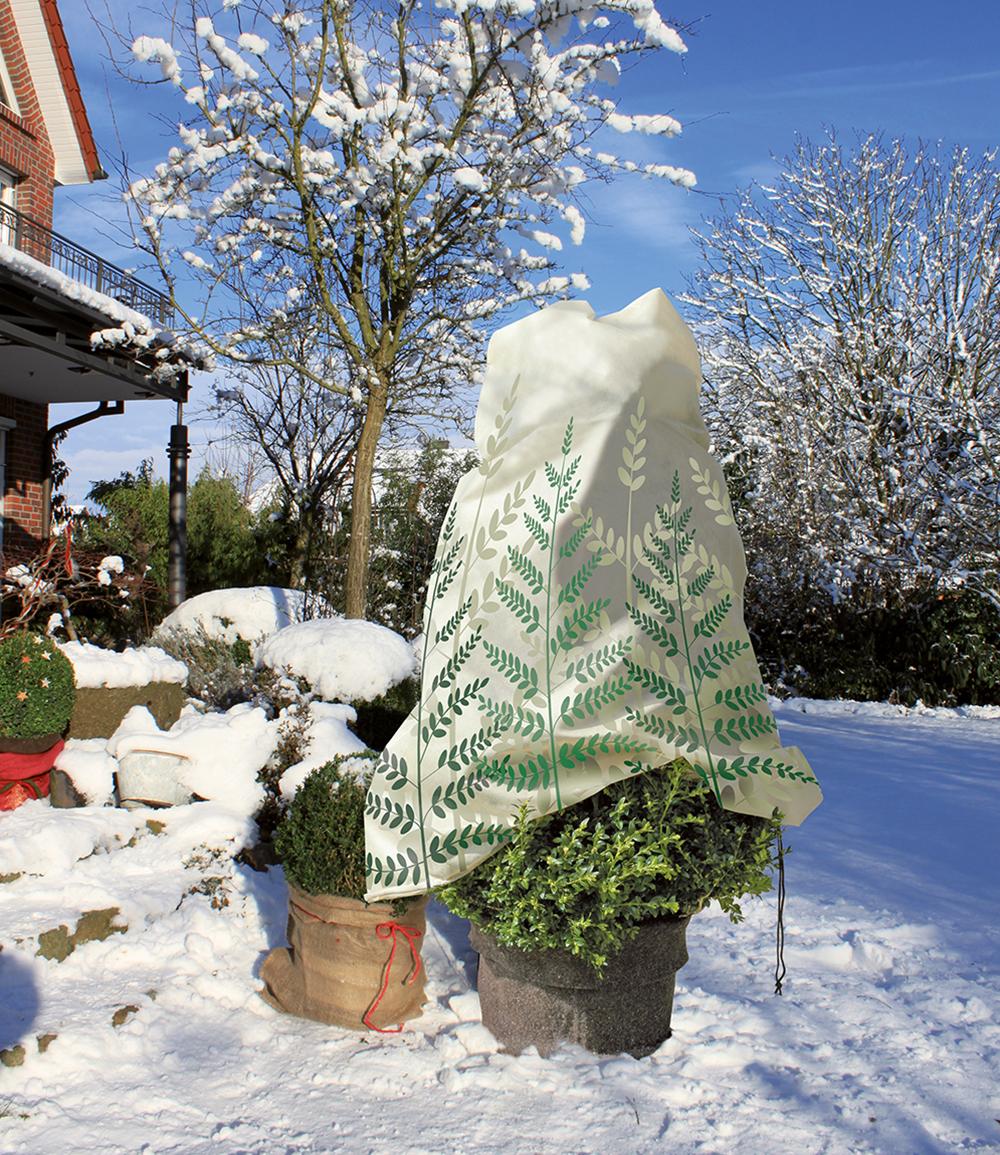 Winterschutz Mega Vlieshaube 'FARN' 180x120cm