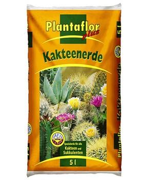 Plantaflor plus Kakteen-Erde,5 Liter