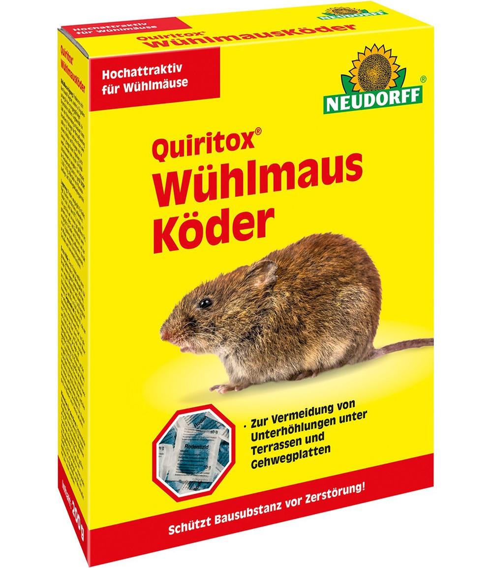 Neudorff® Quiritox® Wühlmausköder