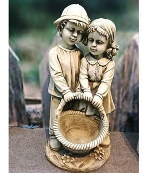 Gartenfigur Junge und Mädchen,1 Stück,, 301887
