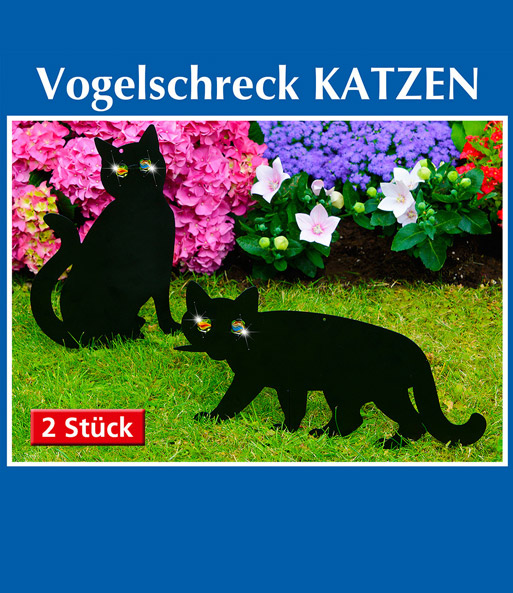 vogelschreck katzen 1a qualit t online kaufen baldur garten. Black Bedroom Furniture Sets. Home Design Ideas