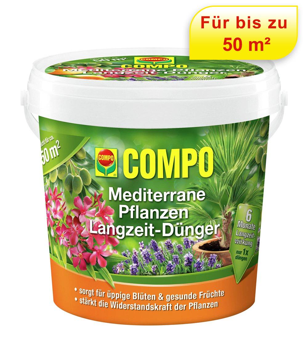 COMPO® Mediterrane Pflanzen Langzeit-Dünger