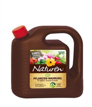 Naturen&reg, BIO-Pflanzen-Nahrung,2 Liter