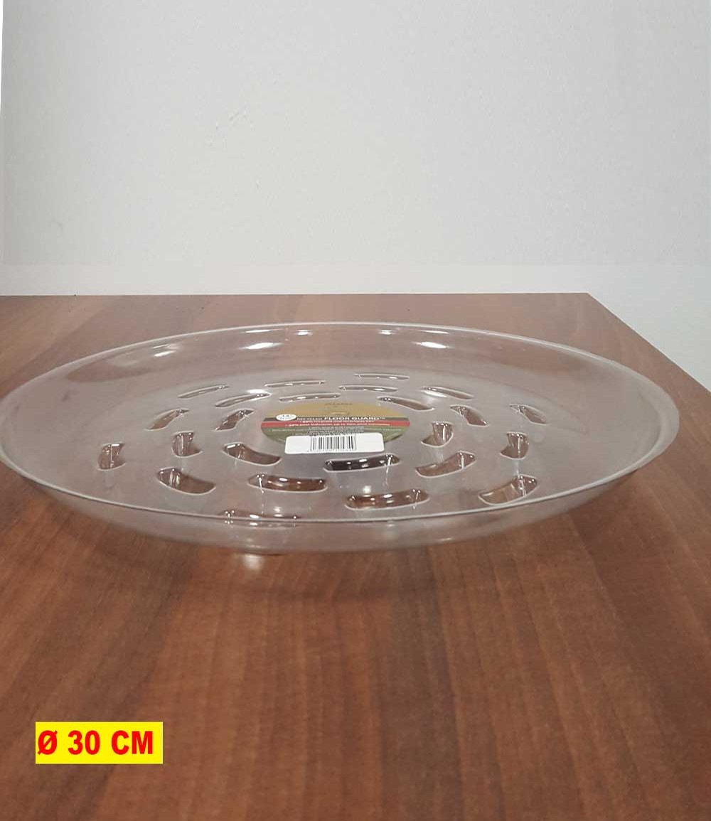 Transparenter Untersetzer 30 cm