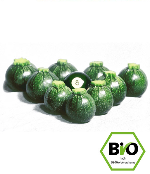 bio zucchini eight ball f1 1a qualit t kaufen baldur garten. Black Bedroom Furniture Sets. Home Design Ideas